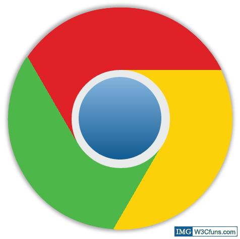 CSS3绘画Chrome标志